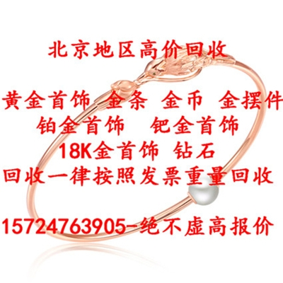 北京哪里回收黄金筷子、黄金碗、黄金勺子、黄金首饰